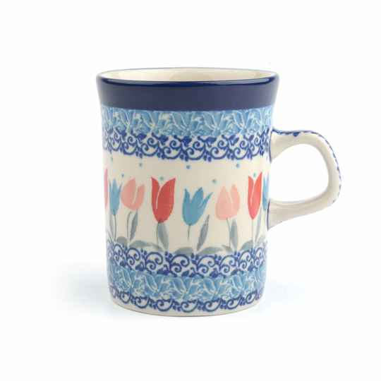 Bunzlau Castle  Mug Straight 250 ml Tulip Lovely Pink 1074-2598