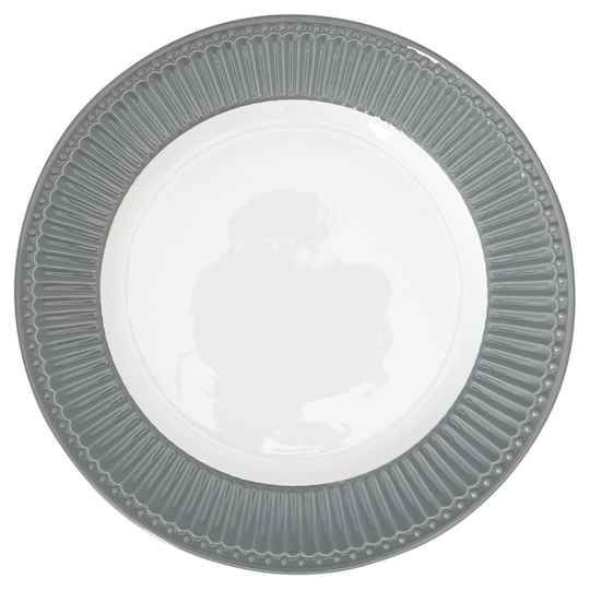 GreenGate Dinner Plate Alice Stone Grey
