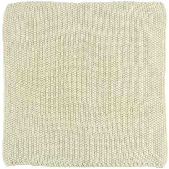 IB-Laursen Dish cloth Mynte Latte knitted  6351-01