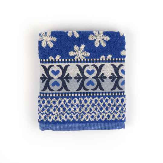 Bunzlau Castle  Kitchen Towel Nautique Royal Blue  5303