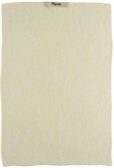IB-Laursen  Towel  Latte knitted  6352-01