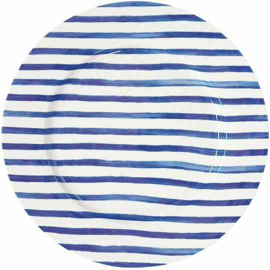 GreenGate dinner plate sally indigo