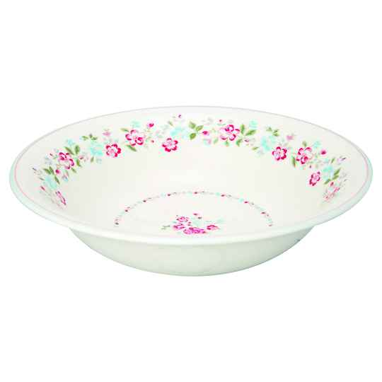 GreenGate Salad Bowl Sonia White