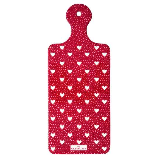 GreenGate Coaster Board Penny Red
