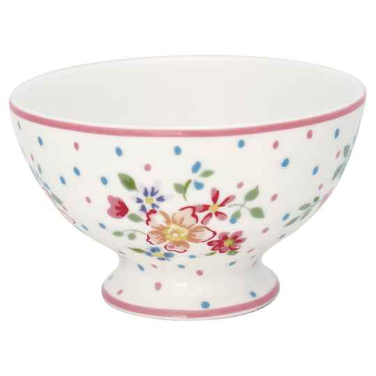 GreenGate  Snack bowl Belle white     STWSNABLL0106