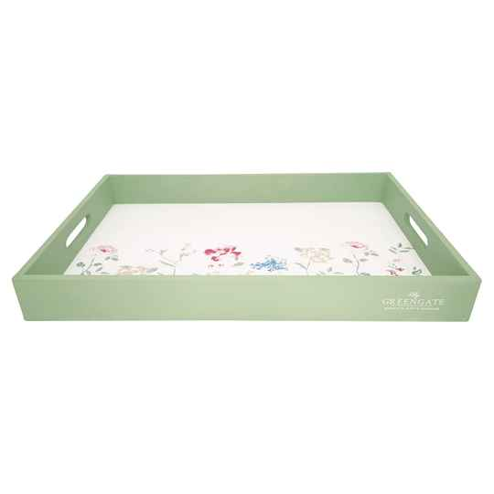 GreenGateTray Thilde white large    WOOTRALTHL0102