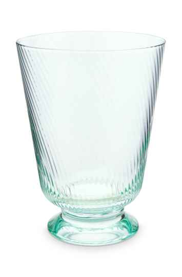 Water Glass Twisted Blue 360ml  51.131.038