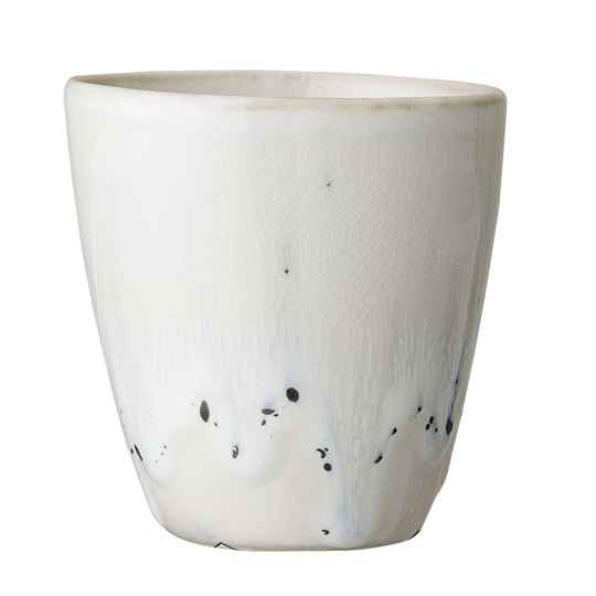 Bloomingville Heather Cup, White, Stoneware  82046178