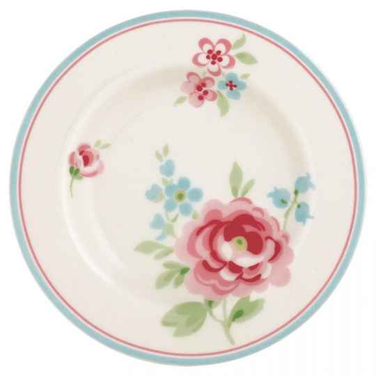 GreenGate Small Plate Meryl White 20 cm