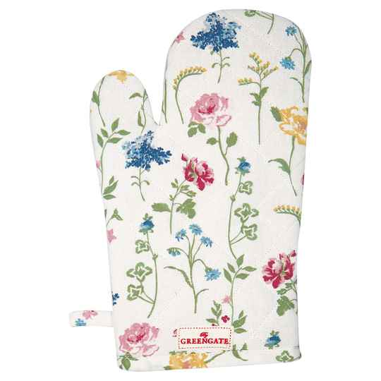 GreenGate Grill glove Thilde white    COTGRITHL0104
