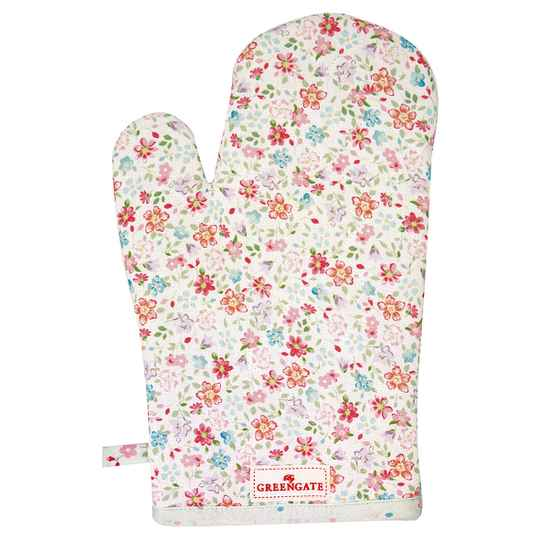 GreenGate  Grill glove Clementine white     COTGRICLM0104