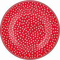 GreenGate Plate 20 cm dot Red