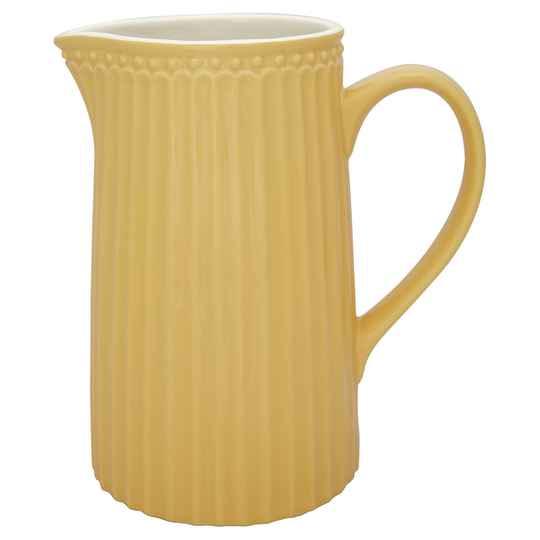 GreenGate  Jug Alice honey mustard 1L     STWJUGA1LALI4006