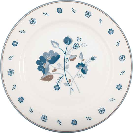 GreenGate Dinner Plate Mozy White  STWDINMOZ0106