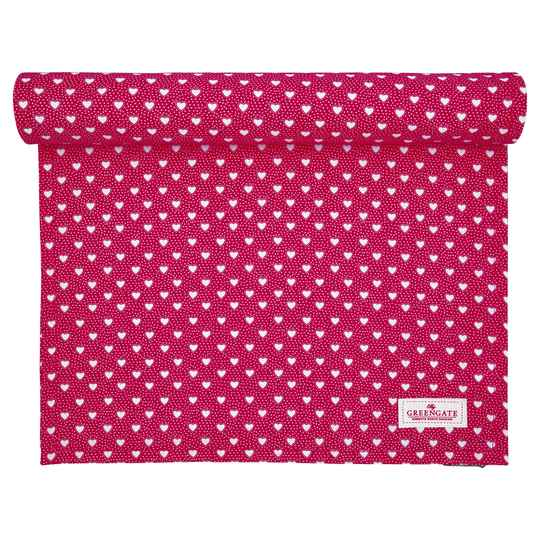 GreenGate Table Runner Penny Red
