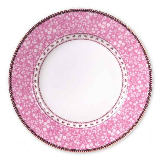 Pip Studio Plate Lovely Branches Pink 26.5cm  51.001.004
