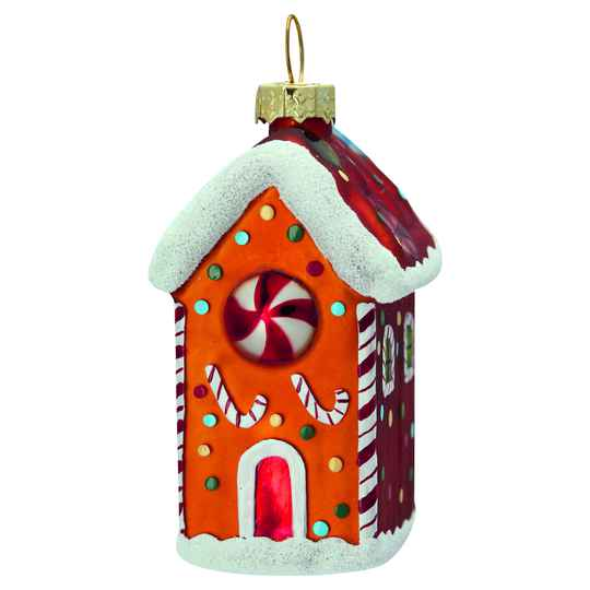 GreenGate Gingerbread House Glitter Small