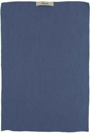 IB-Laursen Towel Mynte Cornflower knitted  6352-09