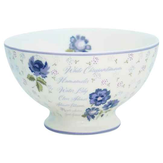 GreenGate Soup Bowl Beatrice White