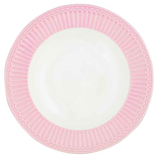 GreenGate Plate Alice Pale Pink 23.5 cm