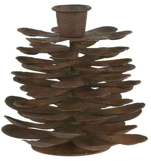 Ib-Laursen Candle holder cone f/dinner candle  57048-14