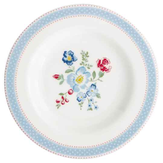 GreenGate  Small plate Evie white 15 cm  STWSMAEVI0106