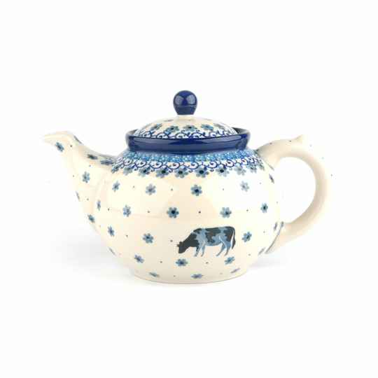 Bunzlau Castle  Teapot 1300 ml Cow   1060-2603