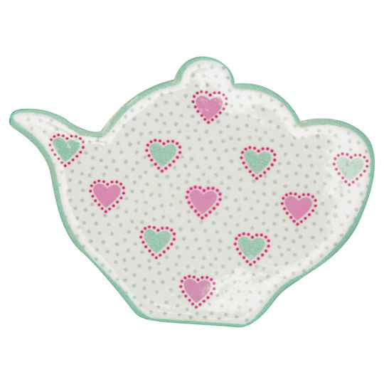 GreenGate Magnet Penny White