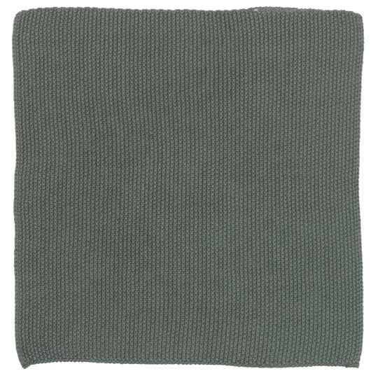 IB-Laursen  Dish cloth Mynte moss greeen knitted  6351-41