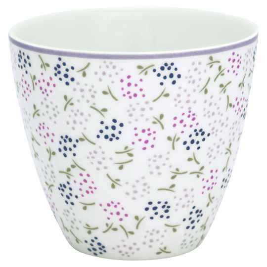 GreenGate Latte Cup Ginny White