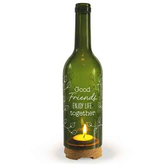 Friends - wine candle