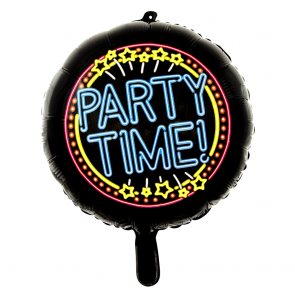 Party time - folieballon neon