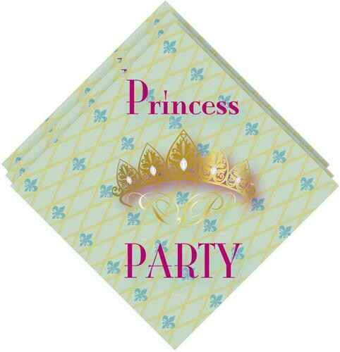 Princess party - servetten