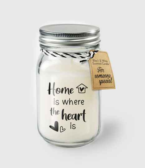 Home is where the heart is - geurkaars