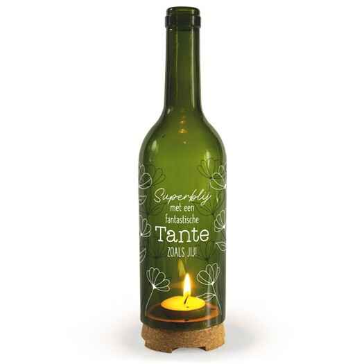 Tante - wine candle