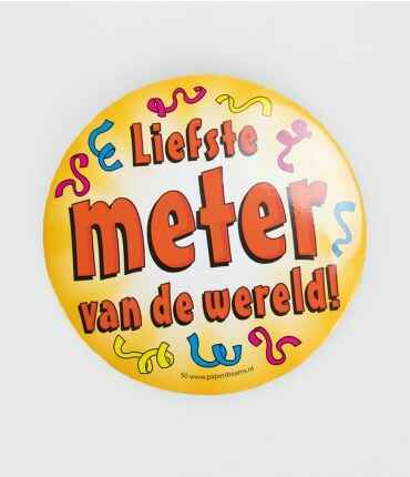 Liefste meter - button XL