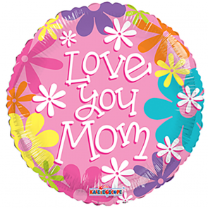 Love you mom - folieballon
