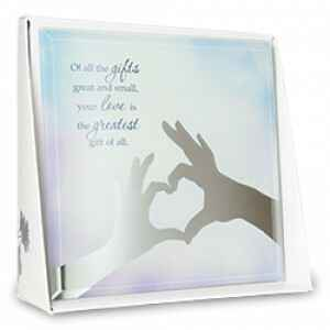 Gifts - silver silhouette