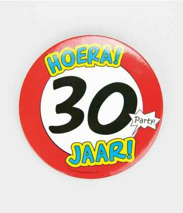 30 Jaar - button XL