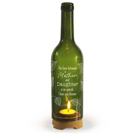 Mother & daughter - wine candle