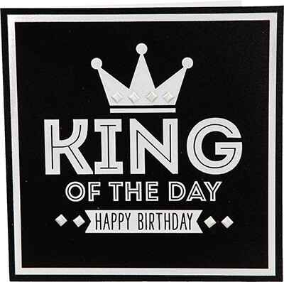 King of the day - wenskaart