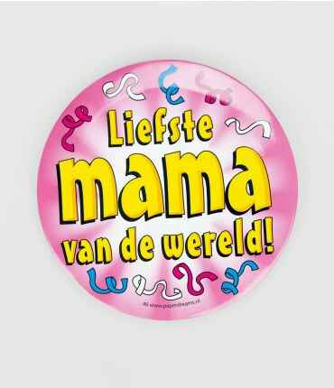 Liefste mama - button XL
