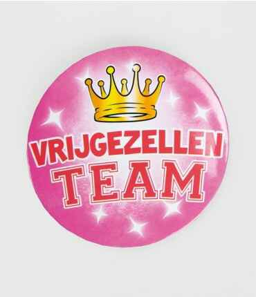 Vrijgezel dames - button XL