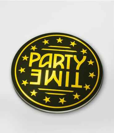 Party time! - glossy coasters
