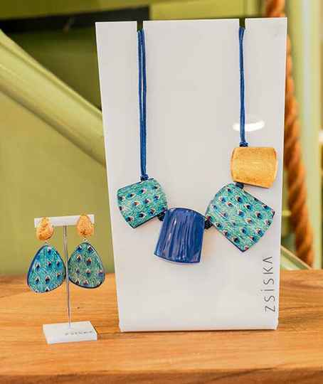 Zsiska ketting PC00101BLUEQ04
