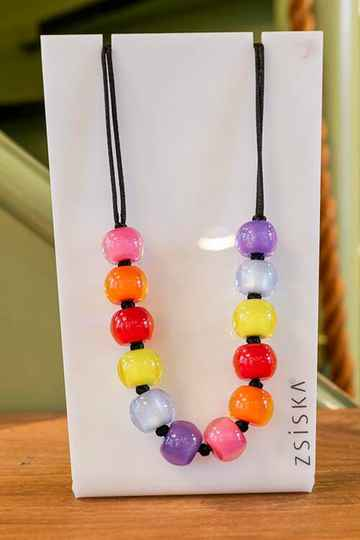 Zsiska colourful beads multicolor