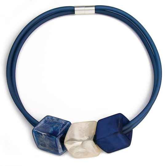 Cube Ketting Jeans