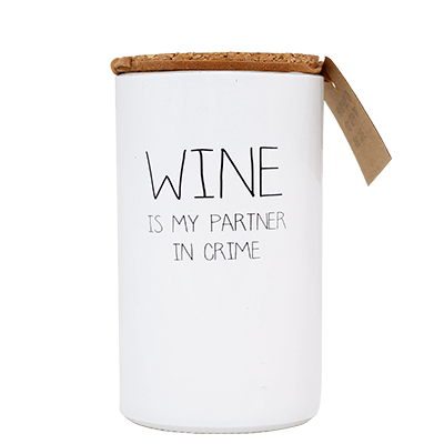 Sojakaars - wine is my partner in crime