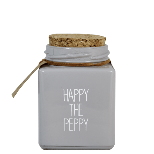 Geurkaars - happy the peppy