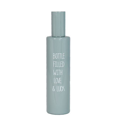 Roomspray - bottle filled with love & luck - geur: botanical bamboo
